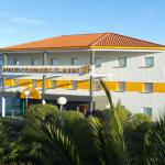 Façade de l'hôtel Première CLasse Nord