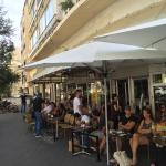 This is one of those establishments in Tel Aviv where some people come to sit there every day. G