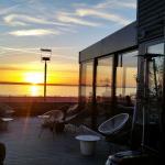 Mat och dryck på Via 95 med en vidunderlig utsikt över Öresund