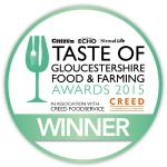 Winner of Best Independent Cafe - 2015 Taste of Gloucestershire Food & Farming Awards
