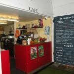 Pistachio's Cafe inside park