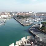 Port depuis tour st Nicolas