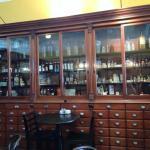 Wonderful interior preserves the history.