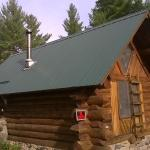 Another view of the snowshoe cabin