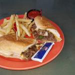Cheesesteak-Lighthouse Beach Bar & Grille