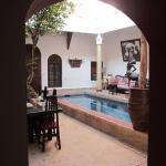 Dining room/plunge pool
