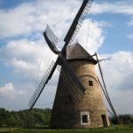 Ветряная мельница в музее