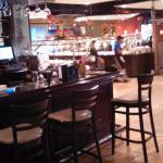 Bar and food buffet