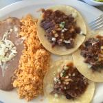 Cheek meat tacos