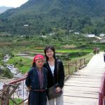 Trek with local guide goodmorning sapa tour