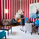 Historic residence filled with contemporary art