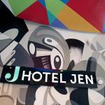 Hotel Jen Brisbane's graffiti mural entrance