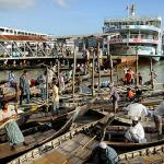A busy day in Sadarghat