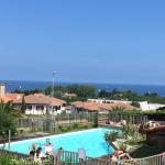 Bella Vista - vue sur la piscine et l'océan