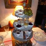 La pyramide des desserts
