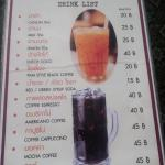 The Classic Old Style Noodle Soup Drink Menu