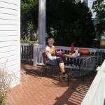 Sunny front veranda