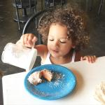 The beignets were fresh and delicious!!!!