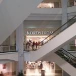 The end of First Floor : start Nordstrom