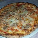 Die beste Pizza die ich je gegessen hab👍