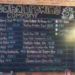 Lots of choices for the beer conniseur at Cheats Brewing Company