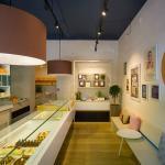 Mandarina Cake Shop interior