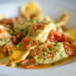 Tortelloni with Heirloom Tomatoes