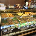 Fresh pastries breads danishes cookies Italian desserts so many words can describe their custome