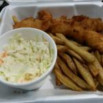 Fish and chips 9.49