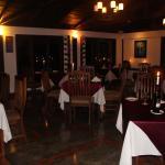 Part of the dining room in the Restaurante El Sendero