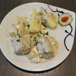 Quelques exemples des plats, salades et desserts