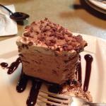 Great chocolate hazelnut mousse cake...