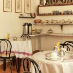 Sala de café - delicioso café da manhã