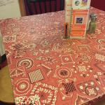 Worn table covers