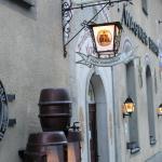 Eingang zum UrBräu Downtown Pottenstein