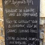Restaurant Margot, Mirmande 24 Sept 2015