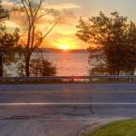 Sunrise from entrance of Whaleback Inn