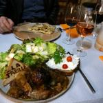 Roquefort Crèpe & Cévénol plate