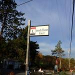Sign at enterance
