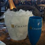 Chandon Bubble Lounge Beach Park