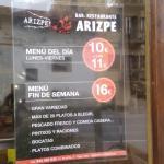 Arizpe jatetxea-restaurante