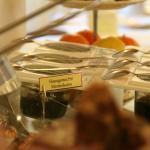 Frühstücksbüffet- hausgemachte Marmeladen