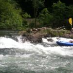 Kayaking on the Hiwassee River