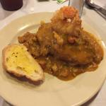 Stuff Potato with Crawfish Etouffee