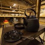 Kitchen stuff used by lumberjack people