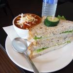 Cafe Amantes Chili and Sandwich