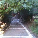Gangvei gjennom dalen i Batsi