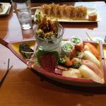 Sushi boat for 1.... Good value