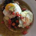 Beautiful Chile Relleno...and tasted even better than it looked!