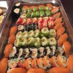 Originelen en verschillende soorten sushi